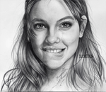 barbara palvin drawing by harrything