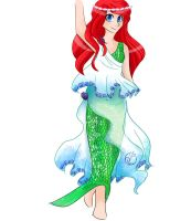 Ariel Greek Costume Design by EverStarcatcher