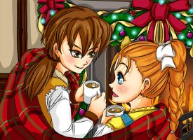 Harvest Moon Christmas Collab Contest by meekgeek