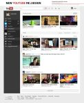 New Youtube Design by Febernovo