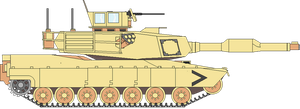 M1A Abrams Tank by GeneralTate