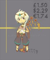 Grade E- Adoptable 003- [CLOSED] Paypal Only by Blukiwi-Adopts