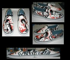 Samurai Champloo Shoes by shadowstrider05