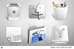 Creme For IconPackager by ipholio