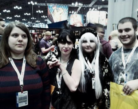 NYCC - (me with my friends) by cocacolaXaddict