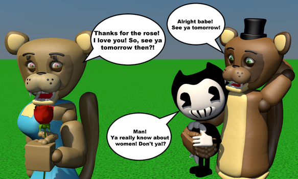 Ya Really Know About Women! (Popgoes+Bendy) by Clawort-Animations