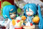 Happy lunch, miku! by BZSarahHime