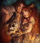 Isaac and Aine by eserioart