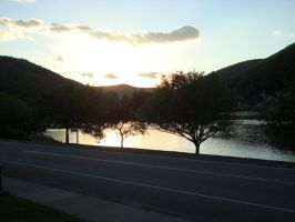 Galeton Sunset 2 by wingstopboy