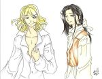The Vampire Lestat and Louis by AnimeJanice