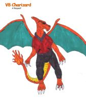 Request-V8 Charizard by SpudYeisleyCreations