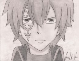 Jellal Drawing by Cheshire-Kitteh