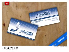 RWT - Business Card and Logo by j4yzk