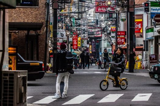 Osaka Streets by VillyVilly