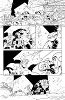 Green Lantern animated book 3 inks page 2 by DarioBrizuelaArtwork
