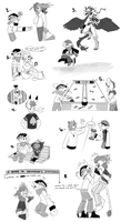 PKMNA: Oodles of Role-Play Doodles ~ by Vanilliana