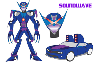 Transformers Neo - SOUNDWAVE by Daizua123