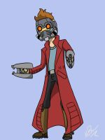 Starlord Bravest Warriors Crossover by GingerBaribuu