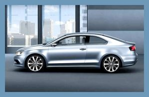 VW concept coupe by puddlz
