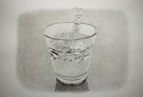 Glass and water by MiStr8022