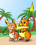 Raichu Love by AleximusPrime