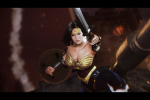Injustice Among Us Wonder Woman by Ninakazama360