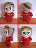 Jimmy 2 Shoes Heloise plushie by VioletLunchell