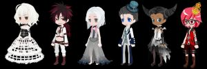 Gothic Adopts~CLOSED by ThisisADOPTABLES
