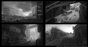 Environment Thumbnails 2 by DrD-no