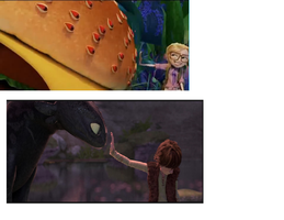 HTTYD reference in CWACOMB 2 XD by PoltergeistForever