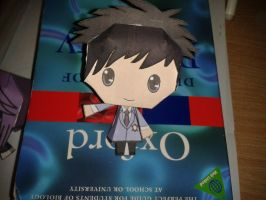 Completed Mori papercraft by groncaloncia