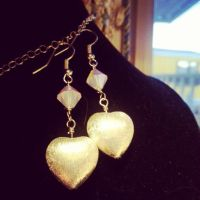 german silver hearts and crystal by alekitty86f