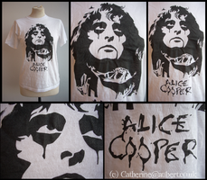 Alice Cooper T-shirt by shadow-of-insanity