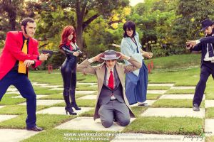 Team LupinIII Cosplay Feb2014 photo68 by Vectorolon
