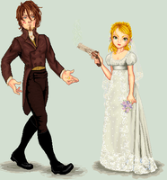 Emily + Will from PLOT by Celulind by Cherieosaurus