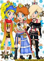Final Princess Fantasy X-2 by Princesa-Daisy