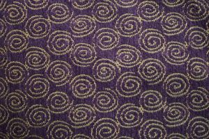 Fabric swirls very textural by paintresseye