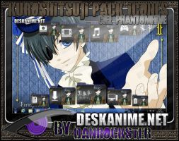 Ciel Phantomhive Pack Icons by Danrockster
