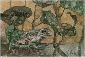 earthen toad by kosharik69