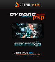 Cyborg Signature PSD by TamyRT