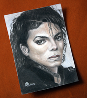 Aceo - Michael Jackson by ABastinStar