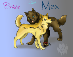 Crista and Max by Ash-Dragon-wolf