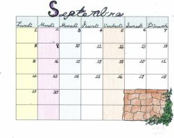 September in French by kriona