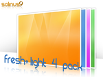 Fresh Light Wall - 4 Pack by solinus9