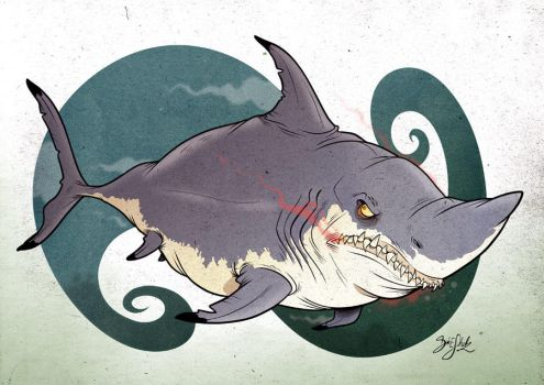 Shark 06 - The Great White by Themrock