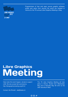 Poster - Libre Graphics Meeting Conference by jcubic
