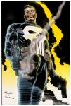 The Punisher by Clu-art