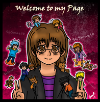 Welcome To My Page by 565mae10