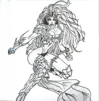 witchblade by TOMAHAWK-DRAGON
