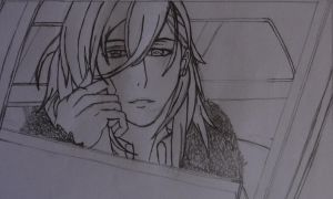 Ren Jinguji No colors by Rev0lution-Zacki3